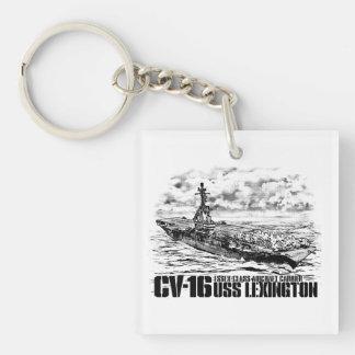 Aircraft carrier Lexington Aif keychain