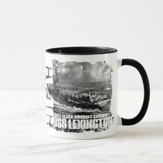 Aircraft carrier Lexington Mug