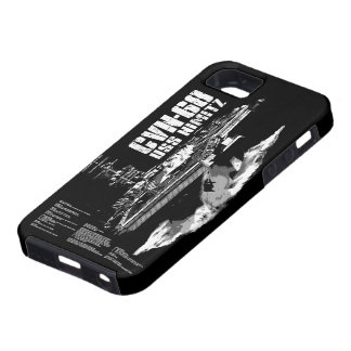 Aircraft carrier Nimitz Casemate case