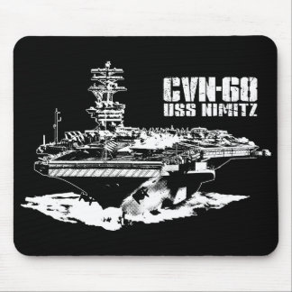 Aircraft carrier Nimitz Mousepad