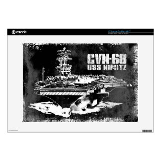 "Aircraft carrier Nimitz Musicskins skin Decals For 15"" Laptops"