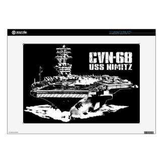 Aircraft carrier Nimitz Musicskins skin Decals For Laptops