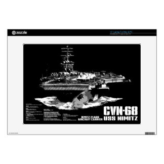Aircraft carrier Nimitz Musicskins skin Skin For Laptop