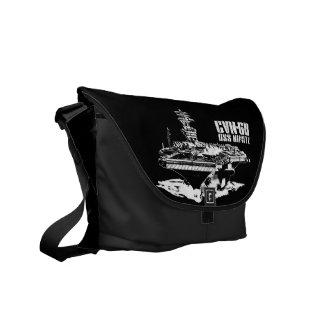 Aircraft carrier Nimitz Rickshaw messengerbag Courier Bag