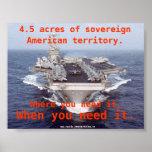 Aircraft Carrier Poster