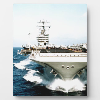 aircraft carrier power and confidence display plaque