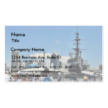 Aircraft Carrier Ship Double-Sided Standard Business Cards (Pack Of 100)
