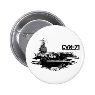 Aircraft carrier Theodore Roosevelt Button