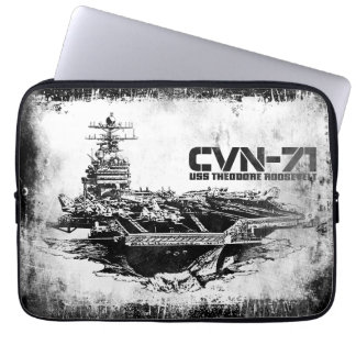 Aircraft carrier Theodore Roosevelt Fuji electron Computer Sleeve