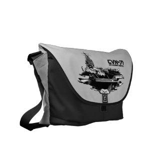 Aircraft carrier Theodore Roosevelt Rickshaw mess Courier Bag