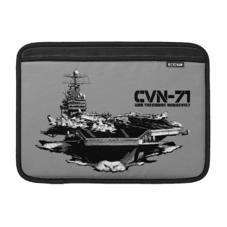 Aircraft carrier Theodore Roosevelt Rickshaw slee Sleeve For MacBook Air
