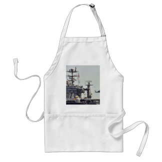 Aircraft Carriers Helicopters Ships Navy Sailors Aprons