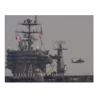 Aircraft Carriers Postcard