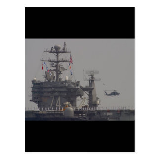 Aircraft Carriers Postcard