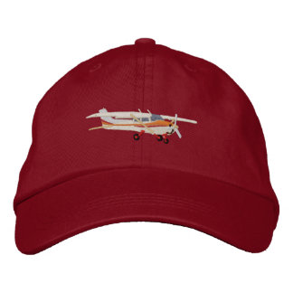 Aircraft Classic Cessna Custom Embroidered Embroidered Baseball Hat