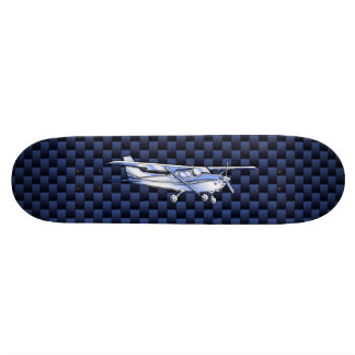 Aircraft Classic Chrome Cessna Flying Carbon Fiber Skateboard