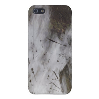 Aircraft dissipation trails cover for iPhone SE/5/5s