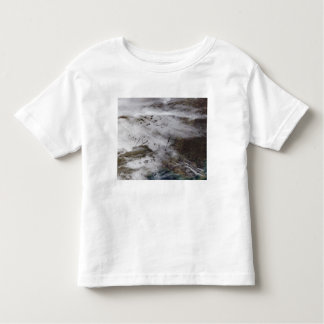 Aircraft dissipation trails toddler t-shirt