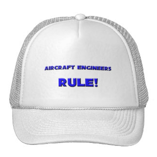 Aircraft Engineers Rule! Hat