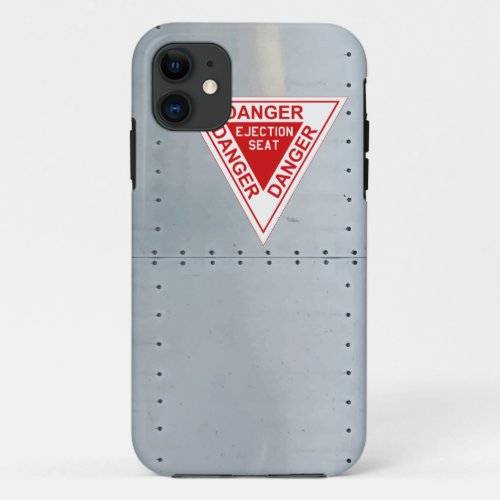 Aircraft fuselage (Danger Ejection seat) Phone Case
