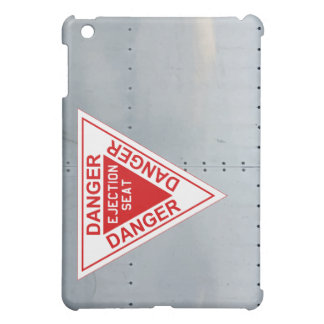 Aircraft fuselage (Danger Ejection seat) iPad Mini Covers