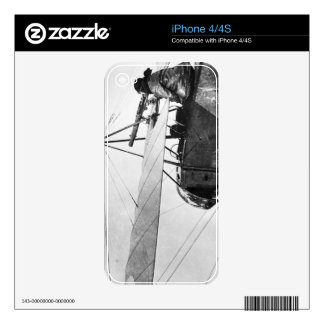 Aircraft gunner during the Battle of the Marne, 19 Skin For The iPhone 4S