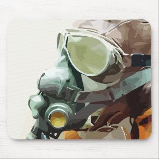 Aircraft Helmet Mousepads