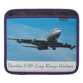 Aircraft image for iPad pad Horizontal iPad Sleeve
