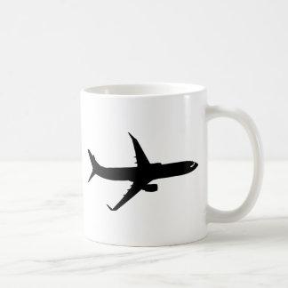 Aircraft Jetliner Shadow Flight Customize Color Coffee Mug