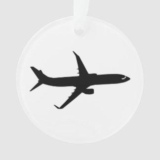 Aircraft Jetliner Shadow Flight Customize Color Ornament