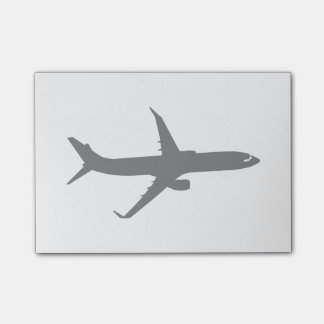 Aircraft Jetliner Shadow Flight Customize Color Post-it® Notes