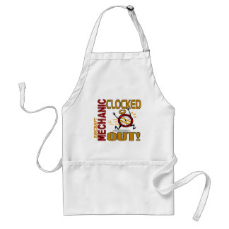 Aircraft Mechanic Clocked Out Aprons