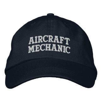 Aircraft Mechanic Embroidered Baseball Hat