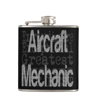 Aircraft Mechanic Extraordinaire Flask