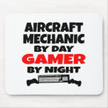 Aircraft Mechanic Gamer Mouse Pad