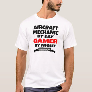 Aircraft Mechanic Gamer T-Shirt