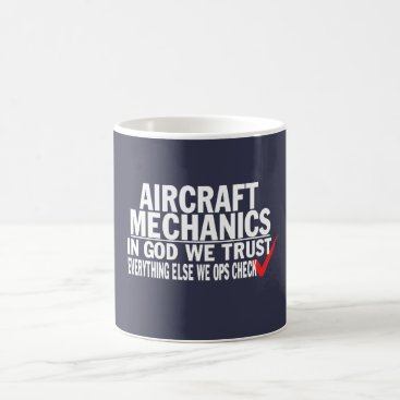 sophiafashion Aircraft Mechanics Coffee Mug