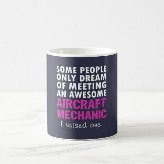 AIRCRAFT MECHANIC'S MOM COFFEE MUG