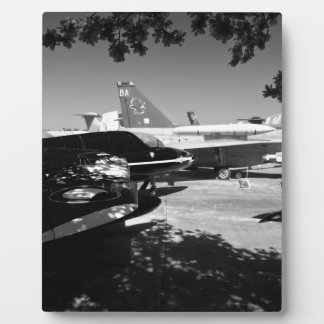 Aircraft museum Garden display Plaque