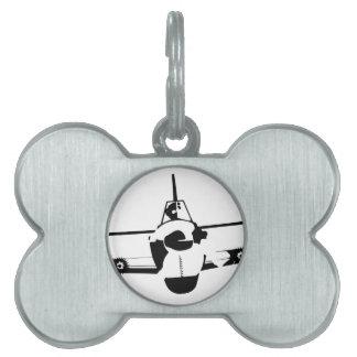 Aircraft Pet Tag
