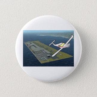Aircraft Pinback Button
