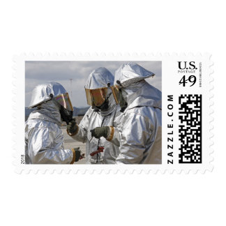 Aircraft Rescue Firefighter Marines Postage