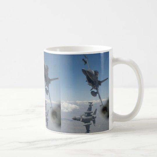 AIRCRAFT SCISSORS MANEUVER COFFEE MUG