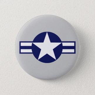 Aircraft Star 2000 Pinback Button