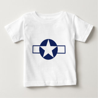 Aircraft Star Pre-1947 Baby T-Shirt