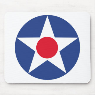 Aircraft Star - Pre 1947 Mouse Pad