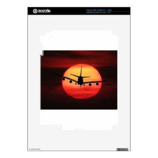 Aircraft Sun Skin For iPad 2