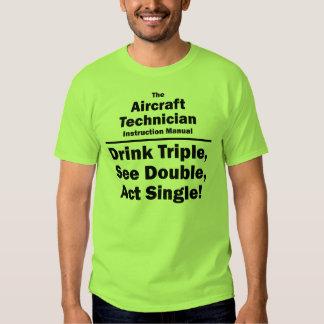 aircraft tech shirt