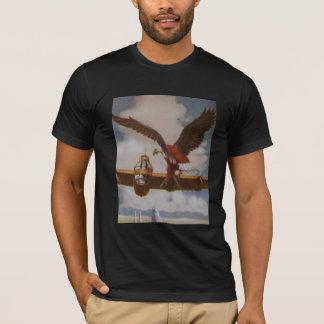 Aircraft Vintage Mens Black Tee Shirt