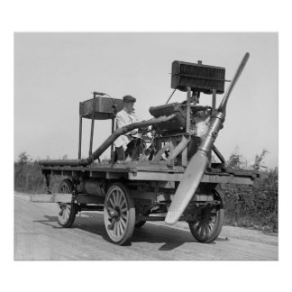 Aircraft Wagon: 1922 Poster